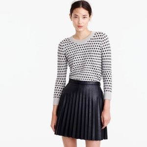 J. CREW Tippi Sweater in Jacquard Dot